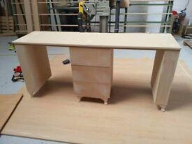 manicure/ nail bar mdf desk