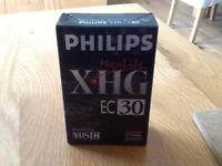 Philips XHG EC30 VHS C cassette for camcorders