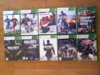 xbox 360 various games