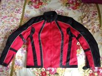 Motorbike Jacket Summer WATERPROOF(thermal detachable lining) size S/M/L BRAND NEW