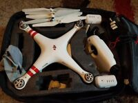 dji phantom 3 drone comes with intelligence batteries