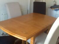 Brand new table and chairs