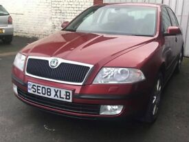 2008 08 SKODA OCTAVIA 1.9 ELEGANCE TDI 99K FSH(CHEAPER PART EX WELCOME)