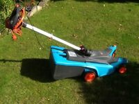 Lawnmower easy push electric Gardena 34E