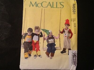 McCalls Pattern  M6591 Halloween Costume Dog Lion Penguin Cow       #3VA125