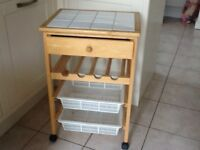 Vegetable/wine rack