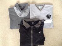 NUFC bundle tops and jacket xxl