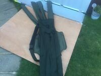 TOP OF THE RANGE -DAIWA INFINITY 4 QUIVER ROD SLING HOLDALL + BODY - NICE CONDITION - JUST £55