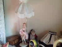 Marilyn Monroe figurine lamp