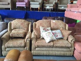 Sherborne 2 seater and chair