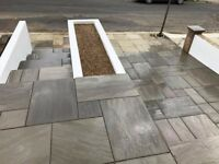 paving slabs and bricks