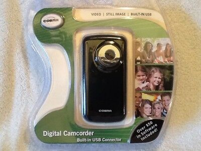 Cobra Video (Cobra Digital Camcorder Video Still Image Built In USB & $50 Free Software)