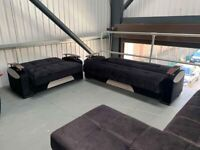 HIGH QUALITY TURKISH GAMMA SOFA BED 3 SEATER OR 2 SEATER NOW IN STOCK