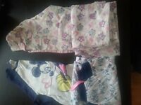 two pairs of pyjamas, Age 10-11