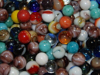 SPECIAL 120  Marbles:Jabo Vitro Champion Agate Marble King Marbles Good Variety