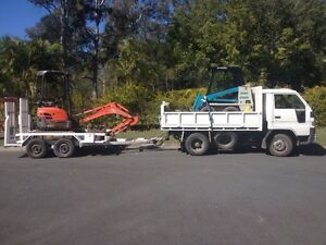 $88hr MINI / MICRO BOBCAT, EXCAVATOR AND TIPPER HIRE Nerang Gold Coast West Preview