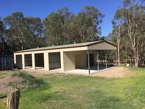 Hunter Valley and Central Coast Shed Building Aberglasslyn Maitland Area Preview