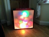 Disco light box