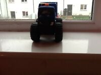 Battery operated monster truck