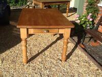 Old fashion kitchen table