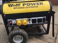 Wolf 3500 6.7 Hp Generator