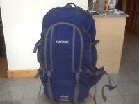 Superb heavy duty(not heavy)Karrimor Global 50 to 70 litre expander travel rucksack-side opening