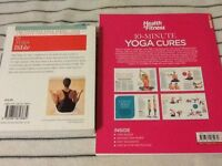 THE YOGA BIBLE & 10 minute yoga cures
