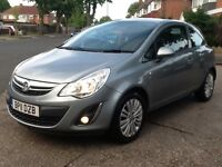 2011 Vauxhall corsa excite 1.3 cdti ecoflex 1 owner £20 tax moted full history 2 X keys BARGAIN!!!!!