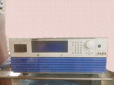 Kikusui Plz6000r Electronic Load 6000w