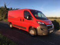 Peugeot Boxer 333 L2H1 HDI, 2014, LOW MILES 38k, Full Service history, Finance Available
