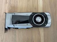 Gigabyte GeForce GTX 1080Ti 11 GB Founders Edition Video Card