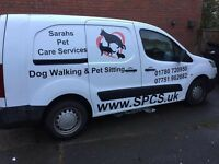 Reliable Professional Dog Walking & Pet Sitting