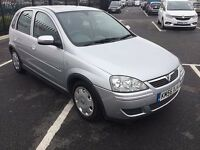 2006 VAUXHALL CORSA 1.2 DESIGN 1 YEARS MOT & TAX 5 DOORHATCH VERY ECONOMICAL CHEAP INSURANCE & TAX