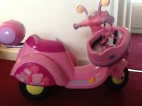 Peppa pig electric bike