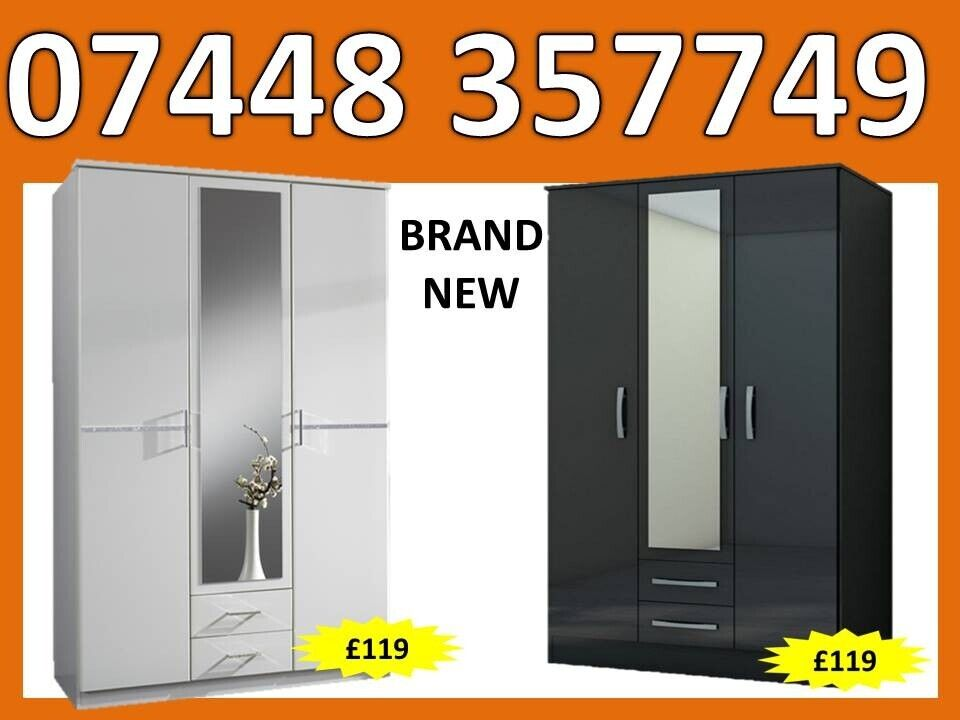 Hot Offer Brand New 3 Door Wardrobe Mirror Can Deliver In Barnsley South Yorkshire Gumtree