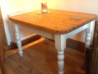 Pine kitchen table 3ft by 4ft