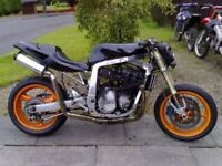 Gsxr 750 Streetfighter Project