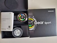 Samsung Gear Sport - Smart Watch (In great condition with box, charger and warranty)