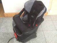 Lightweight group 1 basic car seat for 9mths to 4yrs(for toddler 9kg to 18kg)reclines,washed&cleaned