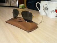 RayBan sunglasses with original case