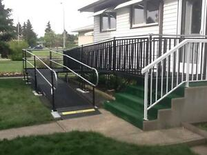 WHEELCHAIR RAMPS - RENT or BUY