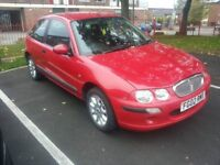2002 rover 25 with 10 months mot 1.4 £325 NO OFFERS