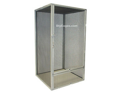 XL 30x16x16 Screen Reptile Cage DIY CAGES SC-2- FREE SHIPPING - ALUMINUM NEW