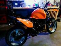 2004 honda varadero xl 125 street fighter winter project