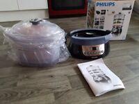 Philips Pure Essentials Collection Steamer HD9140/91 Black, 900 W