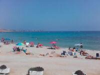 Holiday in Villamartin, Costa Blanca. Paradise location. Sleeps 4. Free August.