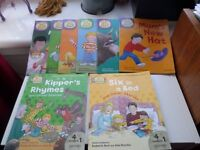 childrens book set phonic oxford reading tree set biff chip kipper primary reading sounds £5