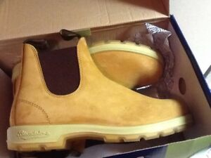NEW Leather Lined Tan Blundstone Boots aus 7 m8 w10