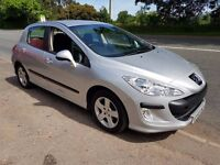 2008 PEUGEOT 308 1.4 IDEAL FAMILY CAR CHEAP ON FUEL TAX AND INSURANCE MOT UNTIL APRIL 2018
