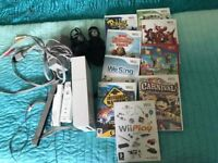 Wii with 9 games
